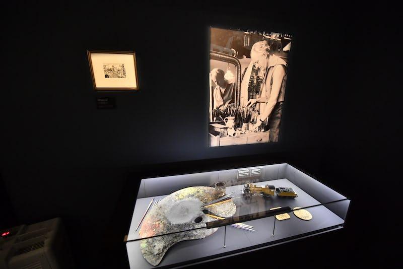 """Visite virtuelle de l'exposition """"Paul Delvaux. L'homme qui aimait les trains"""""""