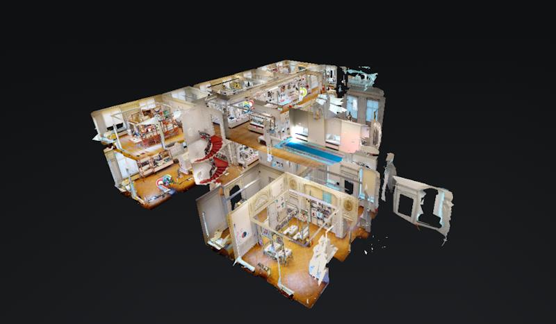 Visite virtuelle The BELvue museum