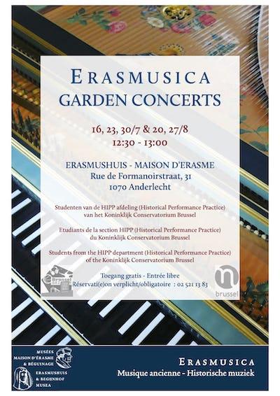 Erasmusica Garden Concert