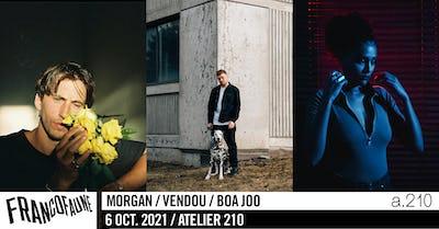 Morgan • Vendou • Boa Joo   FrancoFaune 2021