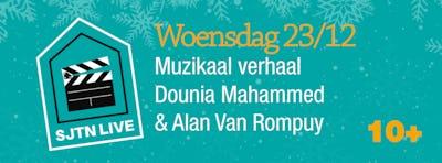 SJTN Live. Muzikaal verhaal Dounia Mahammed & Alan Rompuy