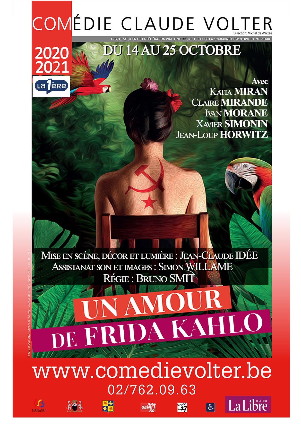 Un Amour de Frida KAHLO