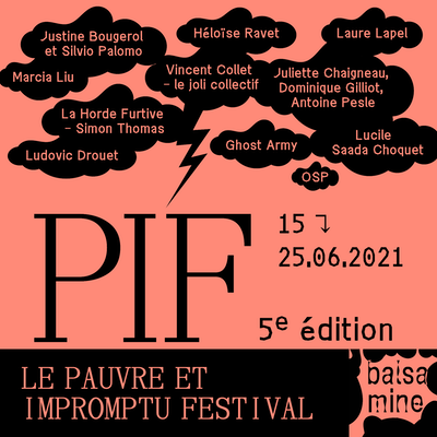 Pauvre et Impromptu Festival Edition n°5