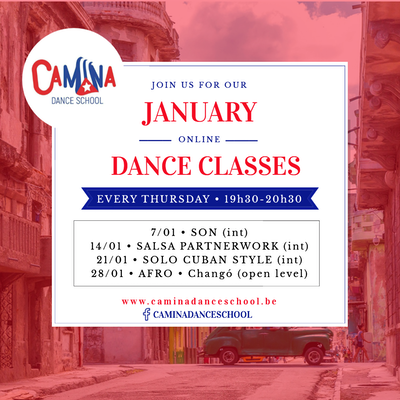 Camina Online Dance classes