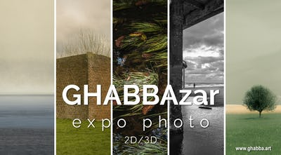 GHABBAzar - Expo photo / Visite virtuelle 2D/3D-360°
