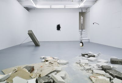Marcin Dudek - Saved by an Unseen Crack - installation view