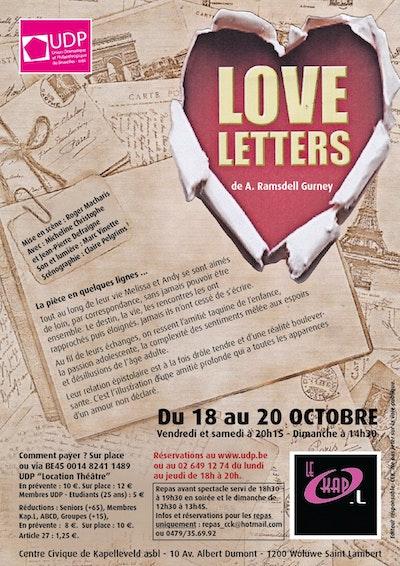 Love Letters, de A.R Gurney