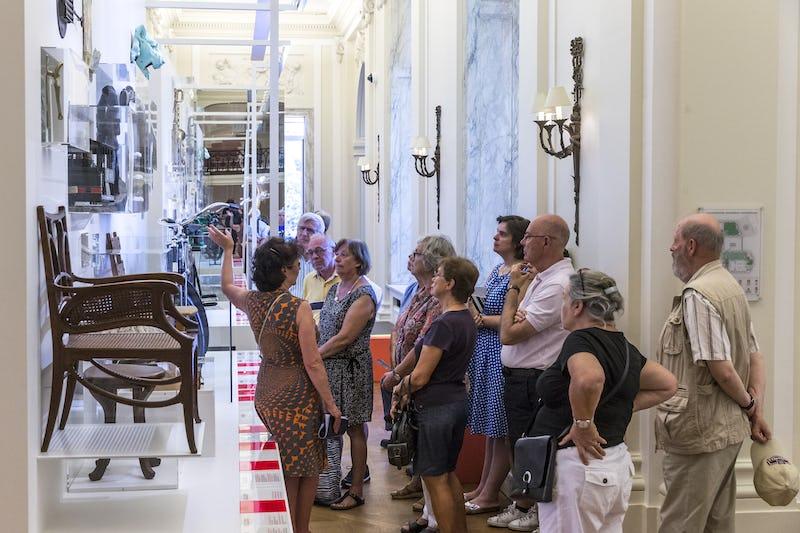 Visite guidée musée BELvue BELvue/Frank Toussaint