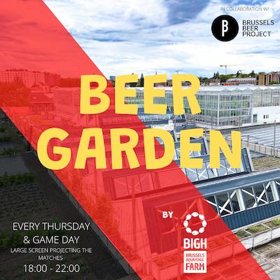 Rooftop Beer Garden @ BIGH feat. Brussels Beer Project