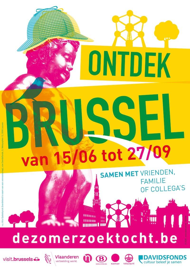 De Zomerzoektocht: Brussel Mini 4 km