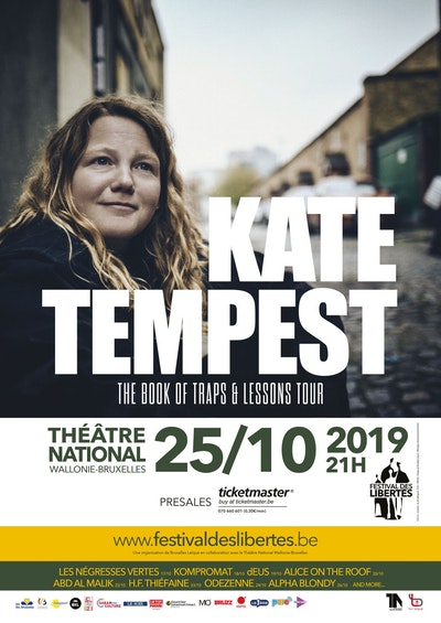 Kate Tempest - The book of traps and lessons tour