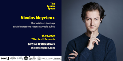 Nicolas Meyrieux en stand up