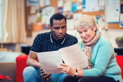 Séance d'information pour futurs mentors