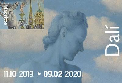 Met BOp vzw: Dali & Magritte - Twee iconen van het surrealisme in dialoog