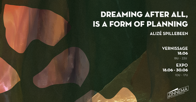 Dreaming after all, is a form of planning.