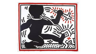 Keith Haring, Untitled 1984 © Keith Haring Foundation
