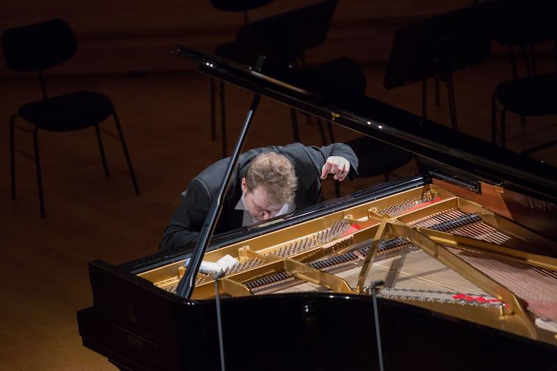 Concours Reine Elisabeth 2021: piano Premier Lauréat Piano 2016 Lukas Vondracek (© Bruno Vessiez)
