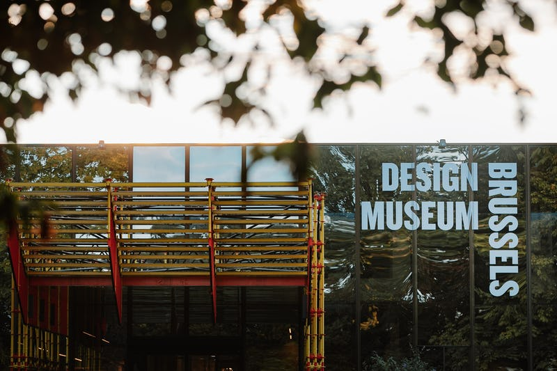 Design Museum Brussels - exterior- Liophotography