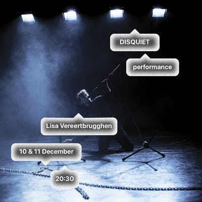 Lisa Vereertbrugghen DISQUIET. sensational aesthetics of a technokin