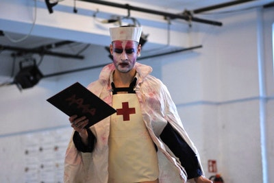Jeremy Wade / The Battlefield Nurse Technologies of Impossible Repair (Love is not romance honey!)