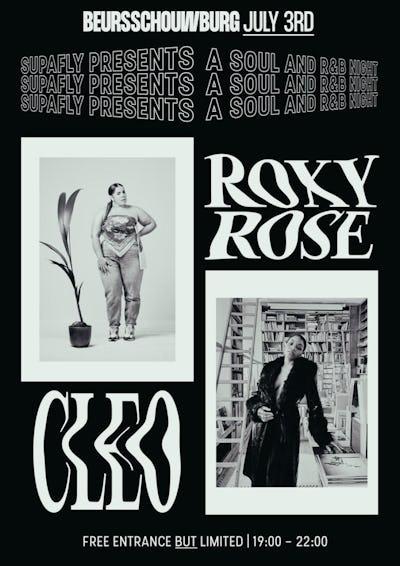 Supafly night: Roxy Rose + Cléo