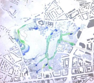 Expo Atelier UCL: De la carte au plan. Dessiner la ville productive.