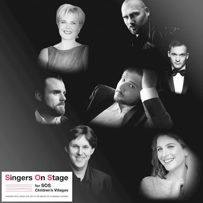 Singers On Stage for SOS Children's Villages