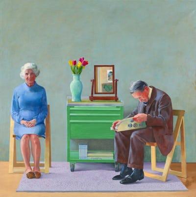 David Hockney : Oeuvres de la collection de la Tate, 1954-2017