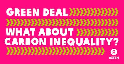 Will the European Green Deal address Carbon Inequality?