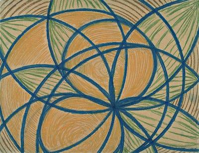 Vaslav Nijinsky, Arcs and segments: lines, 1918/1919. John Neumeier Foundation