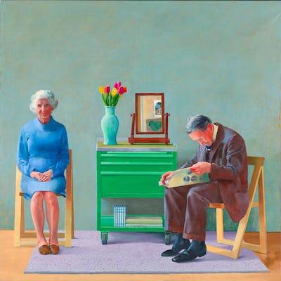 David Hockney : Œuvres de la collection de la Tate, 1954-2017