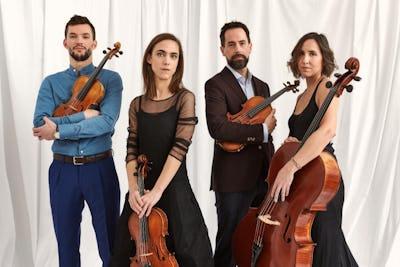 Philip Glass World Premiere - Quatuor Tana