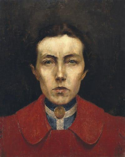 Autoportrait d'Aurélia de Souza, 1900 ©MNSR/DGPC/ADF/Manuel Palma