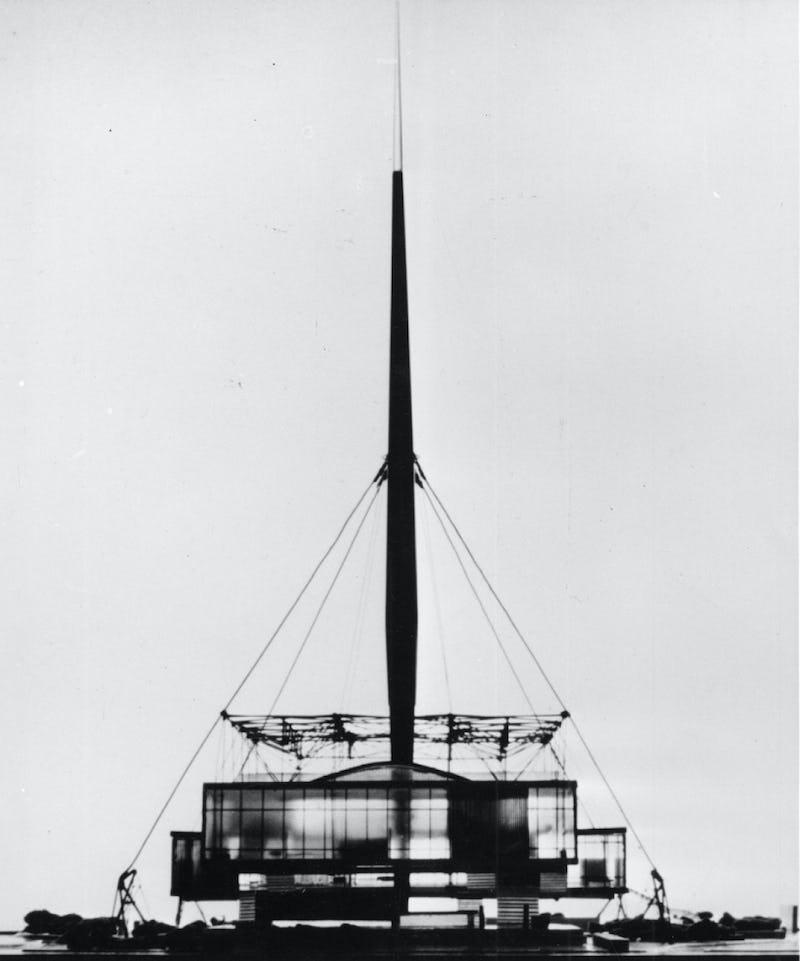 The World as a pavilion (PROLONGÉE) ©Zlatko Zrnec, Vjenceslav Richter Archive, MSU Zagreb