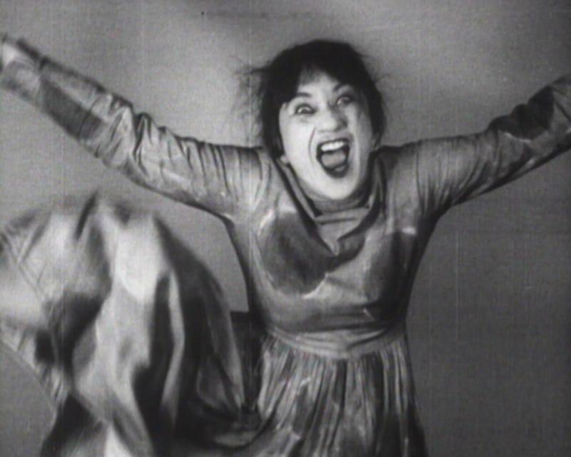 Danser Brut Valeska Gert, Tanzerische Pantomimen, 1925, filmstill. D.R. Centre National de la danse CND