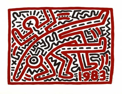 Keith Haring, Untitled,1983 © Keith Haring Foundation