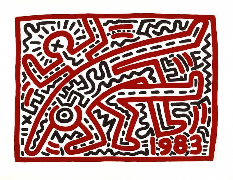 Keith Haring Keith Haring, Untitled,1983 © Keith Haring Foundation