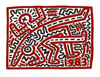 Keith Haring, Untitled,1983 © Keith Haring Foundation