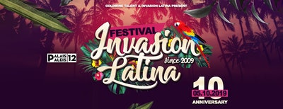 Invasion Latina Indoor Festival