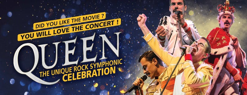 Queen, The unique rock symphonic celebration