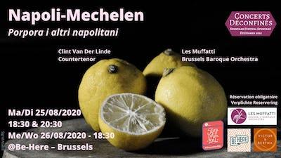 Napoli-Mechelen: Porpora i altri napolitani - Clint Van Der Linde & Les Muffatti