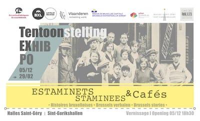 Estaminets-Staminees & Cafés, Brussels stories