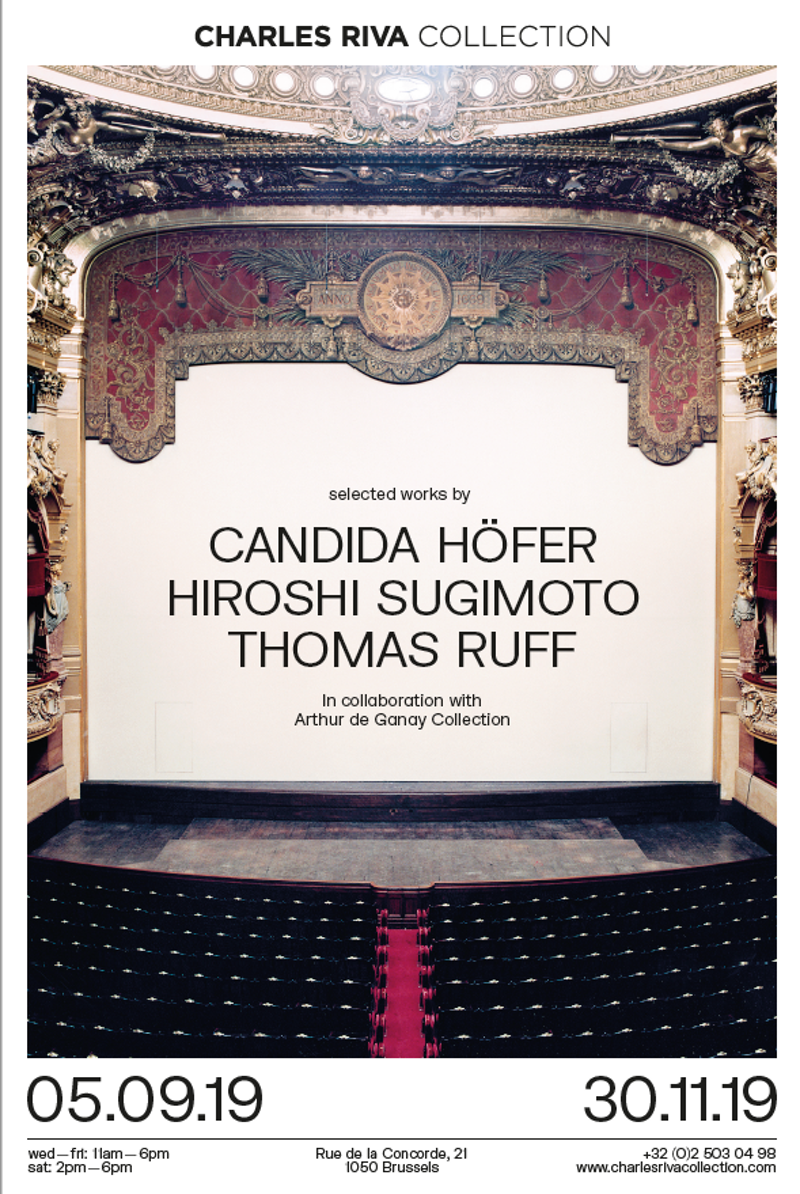 Candida Höfer, Hiroshi Sugimoto, Thomas Ruff