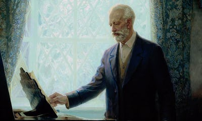 À la memoire d'un grand artiste: Tchaikovsky