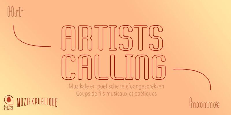 Artists calling