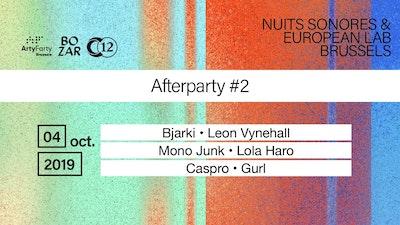 C12 x Nuits sonores • Bjarki / Mono Junk live / Leon Vynehall