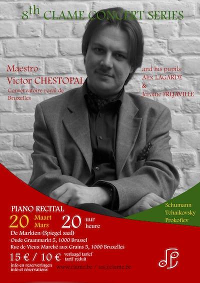 CLAME 8ème Saison des Concerts - Victor CHESTOPAL