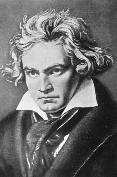 """""""Beethoven, de grote Geweldenaar""""."""