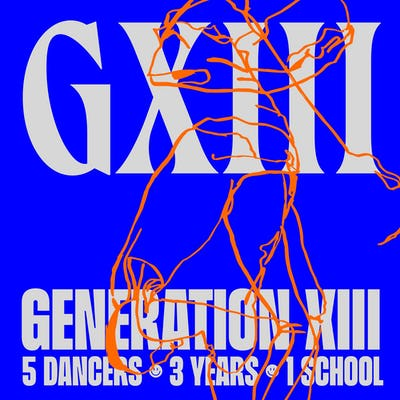 Generation XIII (5 dancers * 3 years * 1 school) podcast