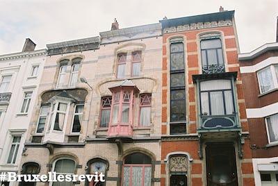#BruxellesRevit - Art Nouveau à Ixelles et Saint-Gilles